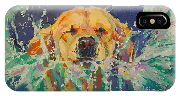 Pet Portrait iPhone Case - Cannonball by Kimberly Santini