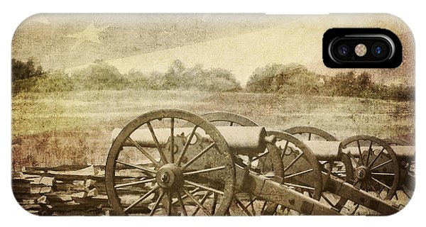 Cannons At Pea Ridge IPhone Case