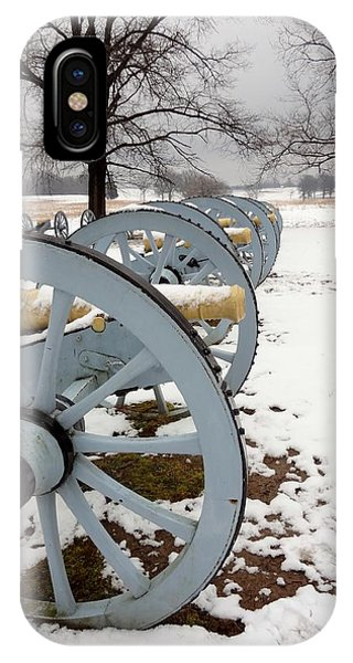 Cannon's In The Snow IPhone Case