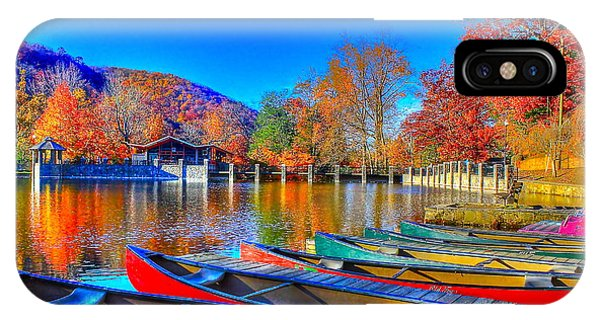 Canoe In Waiting IPhone Case