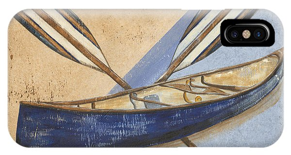 Reel iPhone Case - Canoe Rentals by Debbie DeWitt