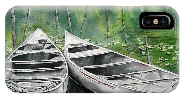 Canoes To Go IPhone Case