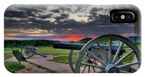 Canon Over Gettysburg IPhone Case