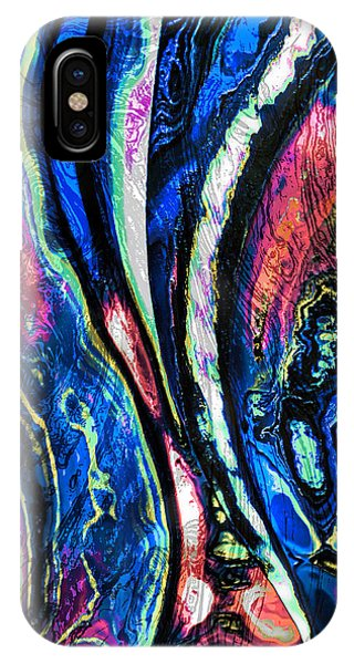 Canvas Of Contemporary Art IPhone Case