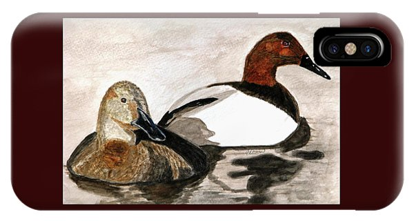 Canvasback Couple IPhone Case