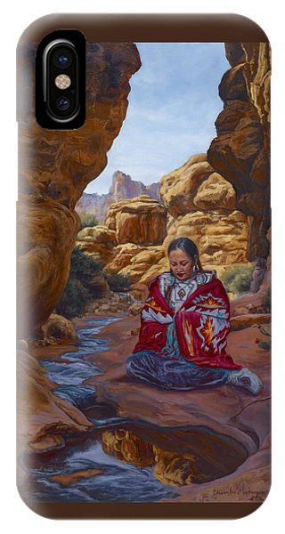 Canyon Cathedral IPhone Case