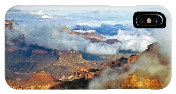 Canyon Clouds IPhone Case