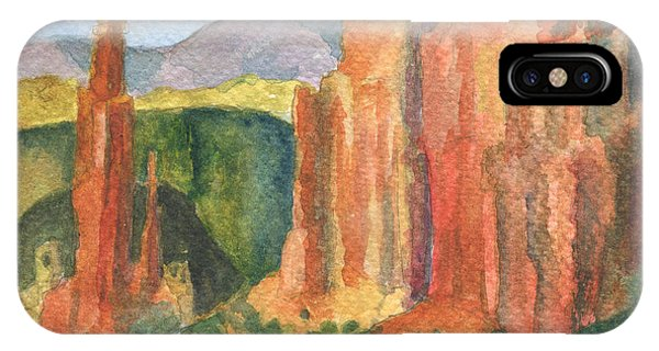 Canyon De Chelly Fantasy IPhone Case