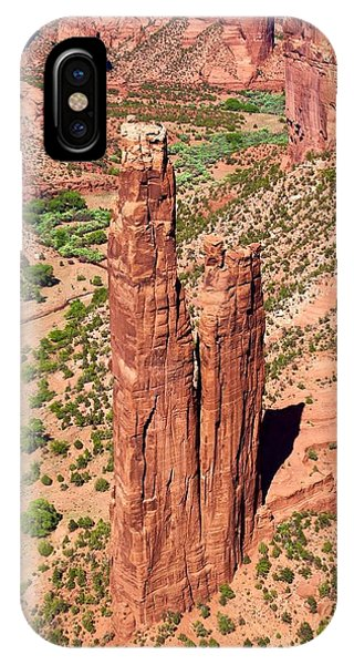 Canyon De Chelly Towers IPhone Case