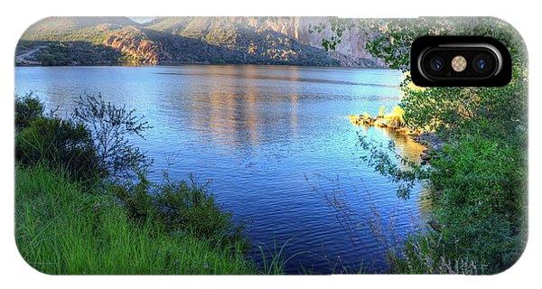 Canyon Lake IPhone Case