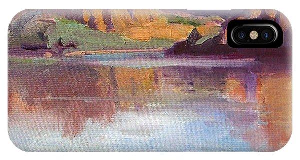 Canyon Lake Of Arizona Phone Case by Mitzi Lai