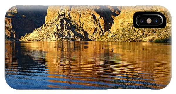 Canyon Lake Reflections IPhone Case