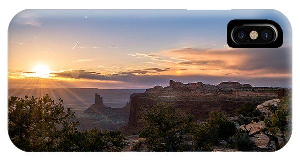 Canyon Lands Beautiful Sunset IPhone Case