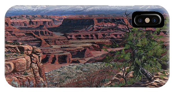 Aztec iPhone Case - Canyon Lands by Timithy L Gordon