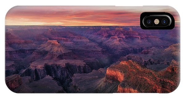 Canyon iPhone Case - Canyon On Fire by Carlos F. Turienzo