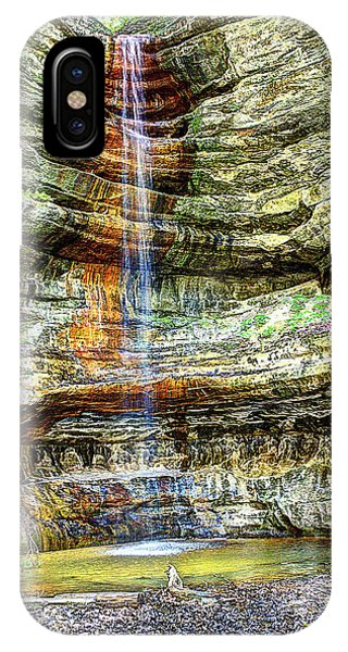 Canyon Starved Rock State Park IPhone Case