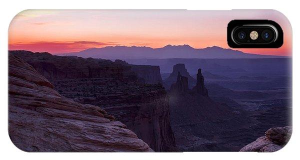 Canyonlands Sunrise IPhone Case