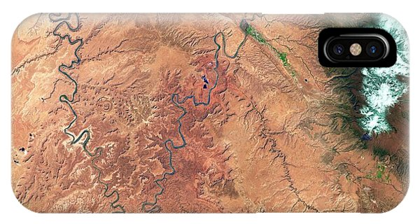 Us National Parks iPhone Case - Canyonlands by Us Geological Survey