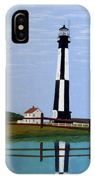Caoe Henry Lighthouse IPhone Case