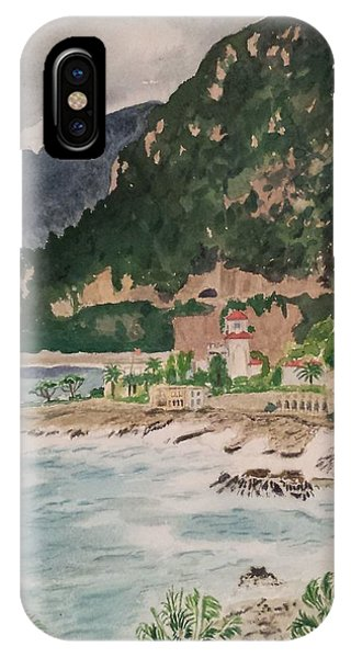 Cap D'ail During The Storm IPhone Case