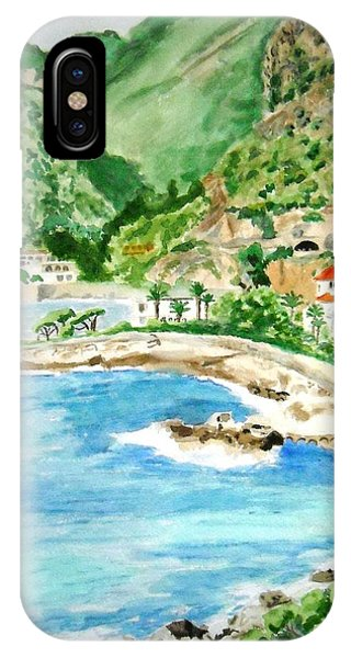 Cap D'ail On A Sunny Day  IPhone Case