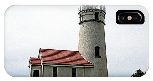 Cape Blanco Lighthouse IPhone Case