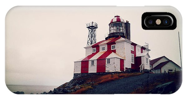 Cape Bonavista Lighthouse IPhone Case