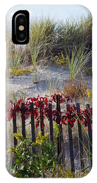 Cape Charles Autumn IPhone Case