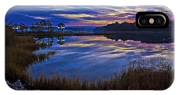 Cape Charles Sunrise IPhone Case