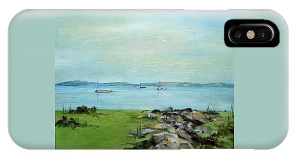 Cape Cod  Boats IPhone Case