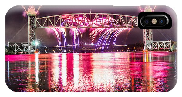 Centennial Bridge iPhone Case - Cape Cod Canal Centennial by Dean Martin