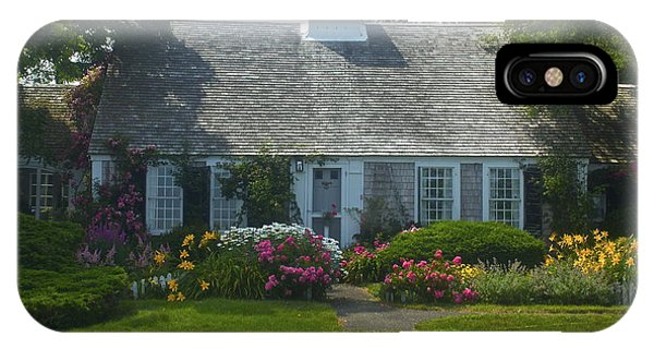 Cape Cod Cottage IPhone Case
