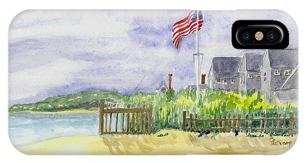 Massachusetts -cape Cod Cottages IPhone Case