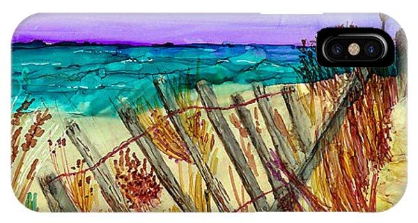 iPhone Case - Cape Cod Dunes by Alene Sirott-Cope
