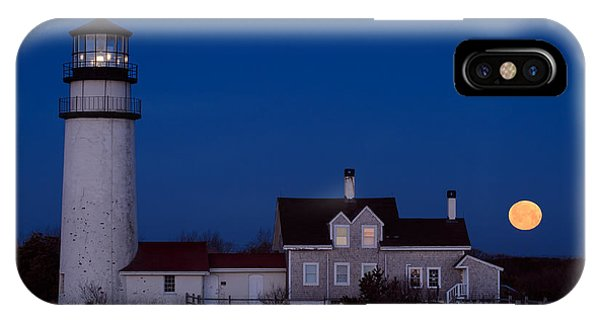 Cape Cod Moonset IPhone Case