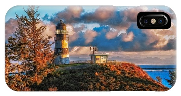 Cape Disappointment Light House IPhone Case