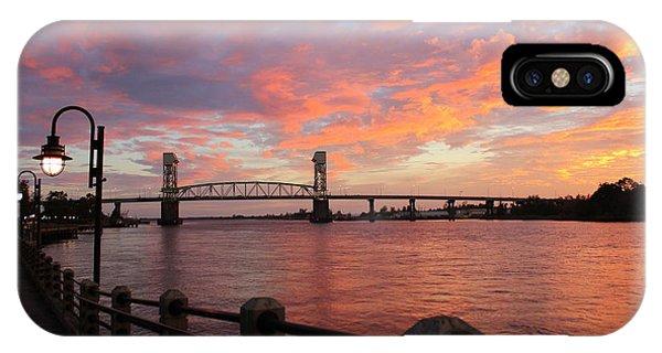 Cape Fear Bridge IPhone Case