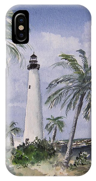 Cape Florida Light Phone Case by Stephanie Sodel