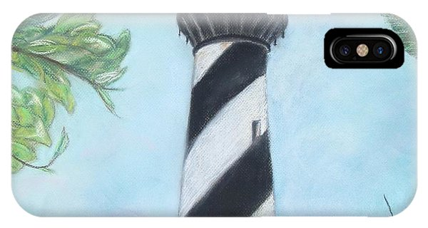 Cape Hatteras Light IPhone Case