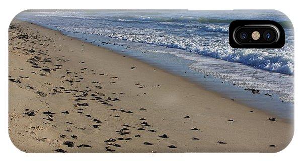 Cape Hatteras - Mermaid's Purse Laiden Beach IPhone Case