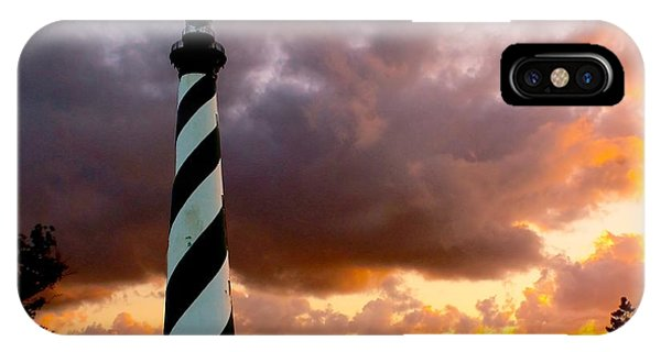 Cape Hatteras Sunset IPhone Case