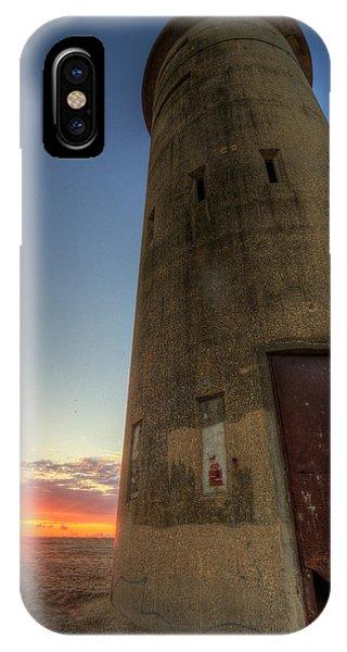 Cape Henlopen Tower IPhone Case
