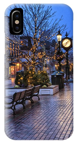 Cape May Christmas IPhone Case