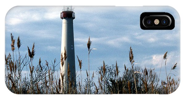 Lighthouse Wall Decor iPhone Case - Cape May Light by Skip Willits