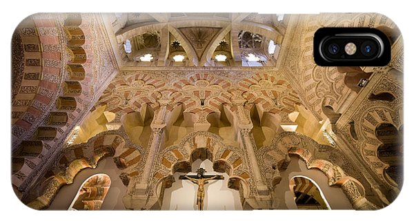 Capilla De Villaviciosa In The Great Mosque Of Cordoba IPhone Case