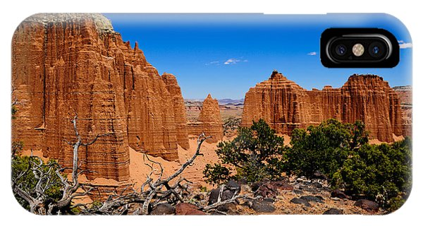 Capital Reef IPhone Case