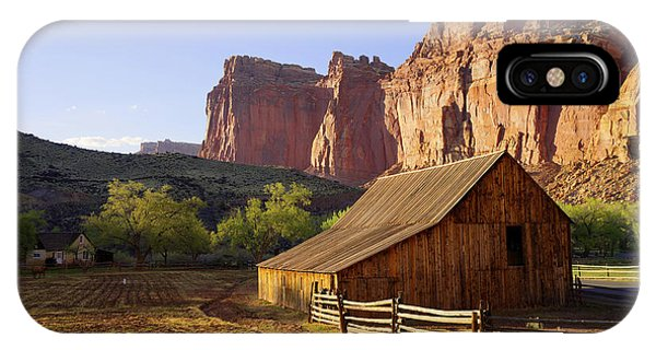Ranch iPhone Case - Capitol Barn by Chad Dutson