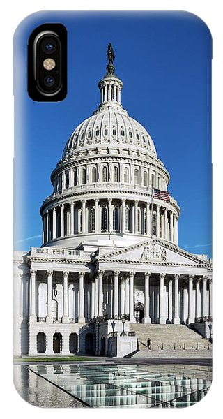 Capitol Building iPhone Case - Capitol Building by John Greim/science Photo Library