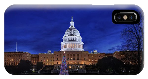 Capitol Christmas - 2013 IPhone Case