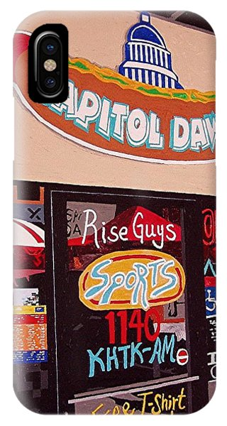 Capitol Dawg Phone Case by Paul Guyer
